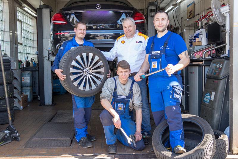 Werkstatt Team - Shell Brunner - Waldshut-Tiengen